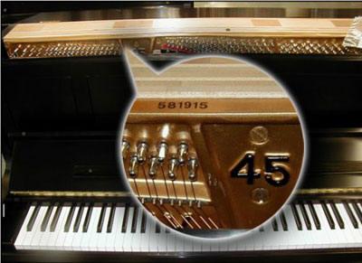 kimball baby grand piano serial number
