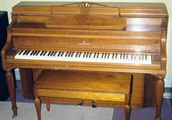 Types sizes of pianos for Piano upright dimensions